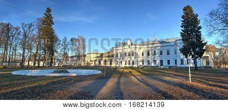 school in the town of Andrushivka, Ukraine