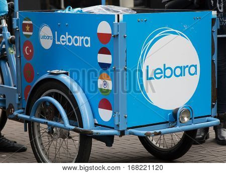 Lebara On A Cart In Amsterdam