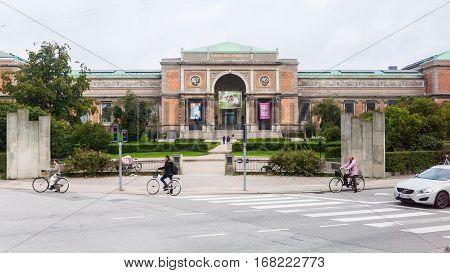 View Of National Gallery Of Denmark In Copenhagen