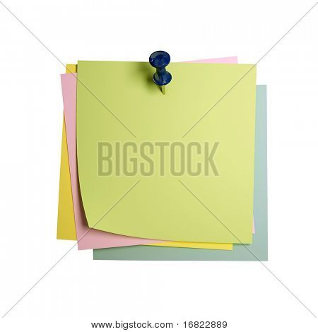 fine image 3d of classic paper sticker isolated on white