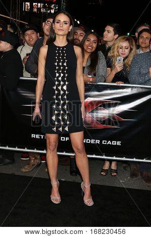 LOS ANGELES - JAN 19:  Jordana Brewster at the
