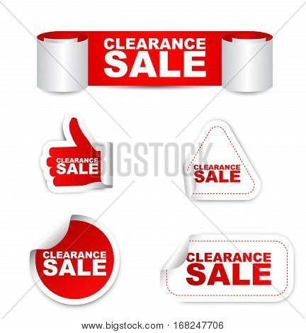 clearance sale sticker clearance sale red sticker clearance sale red vector sticker clearance sale set stickers clearance sale clearance sale eps10 design clearance sale sign clearance sale banner clearance sale