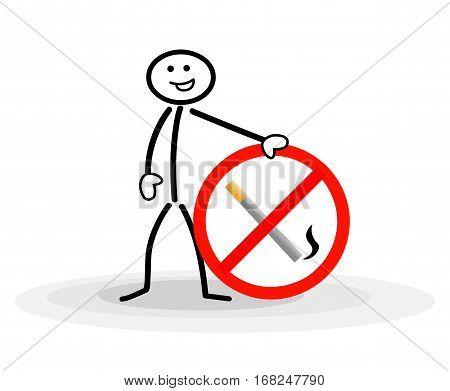 man with sign no smoking smoking stop smoking sign stop smoking no smoking background no smoking people smoking sign smoke icon stop smoking