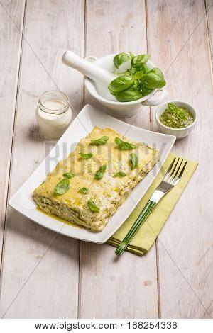 italian pesto lasagne