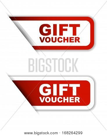 gift voucher sticker gift voucher red sticker gift voucher red vector sticker gift voucher set stickers gift voucher design gift voucher sign gift voucher gift voucher eps10