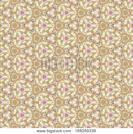 Color kaleidoscope background - the vector color illustration