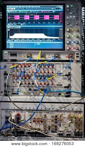 modern analyzer of a signal and signal generator