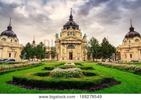 The Famous Szechenyi Thermal Baths