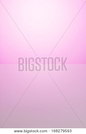 Soft pink color for background. Abstract bicolor