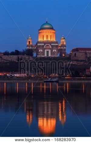 Basilica In Esztergom, Hungary