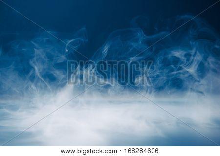 smoke background and dense fog