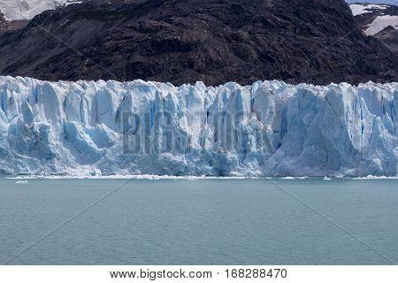 perito moreno glaciar in argentina in summer