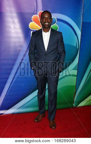 LOS ANGELES - JAN 18:  Sterling K. Brown at the NBC/Universal TCA Winter 2017 at Langham Hotel on January 18, 2017 in Pasadena, CA