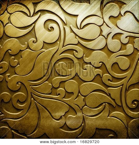metal background (golden collection)