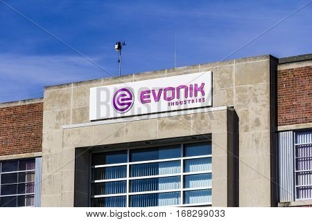 Lafayette - Circa February 2017: Evonik Tippecanoe Laboratories Manufactures Pharmaceutical ingredients and Animal Health Products I