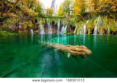 Waterfalls Of Plitvice National Park