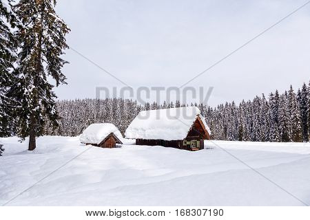 Winter Holiday House In Slovenia Alps