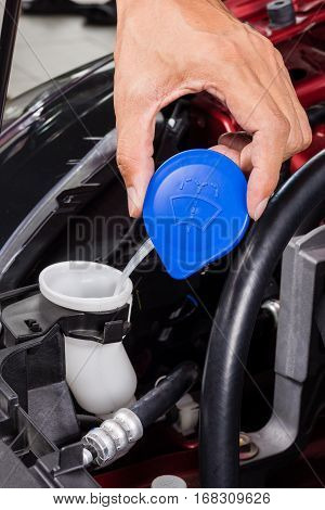 Windshield Washer Cap