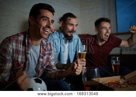 Ecstatic men