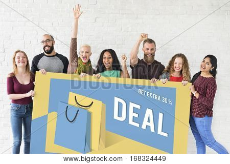 Season of Sale Promotion Clearance Best Offer Concept