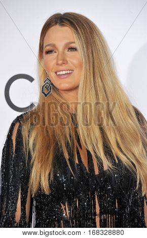 Blake Lively at the People's Choice Awards 2017 held at the Microsoft Theater in Los Angeles, USA on January 18, 2017.