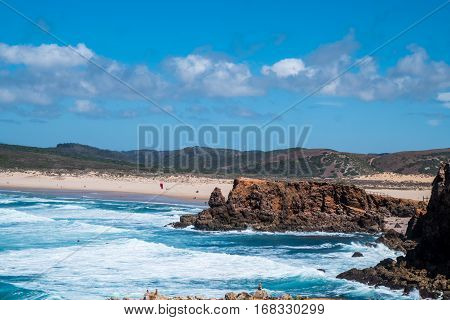 Portugal - Rocks And Beach