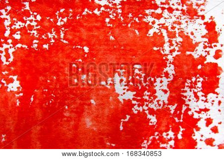 Red and White Watercolour Background 1