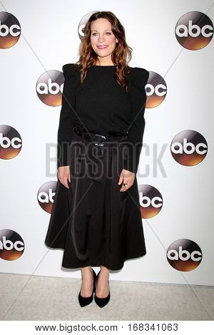 LOS ANGELES - JAN 10:  Lili Taylor at the Disney/ABC TV TCA Winter 2017 Party at Langham Hotel on January 10, 2017 in Pasadena, CA