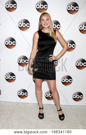 LOS ANGELES - JAN 10:  Amanda Michalka, AJ Michalka at the Disney/ABC TV TCA Winter 2017 Party at Langham Hotel on January 10, 2017 in Pasadena, CA
