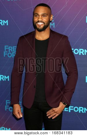 LOS ANGELES - JAN 10:  Jeff Pierre at the Disney/ABC TV TCA Winter 2017 Party at Langham Hotel on January 10, 2017 in Pasadena, CA