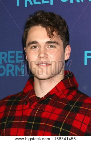 LOS ANGELES - JAN 10:  Charlie Depew at the Disney/ABC TV TCA Winter 2017 Party at Langham Hotel on January 10, 2017 in Pasadena, CA