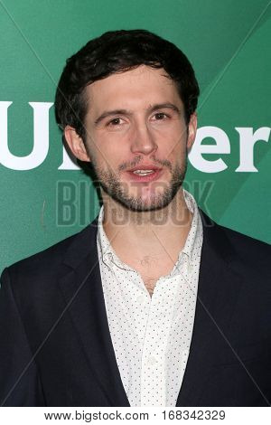 LOS ANGELES - JAN 17:  Rob Heaps at the NBC/Universal Cable TCA Winter 2017 at Langham Hotel on January 17, 2017 in Pasadena, CA