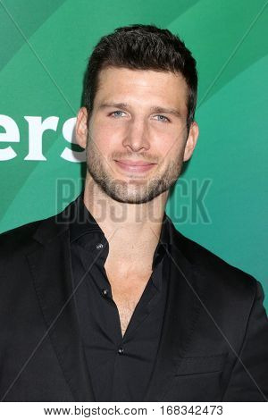 LOS ANGELES - JAN 17:  Parker Young at the NBC/Universal Cable TCA Winter 2017 at Langham Hotel on January 17, 2017 in Pasadena, CA