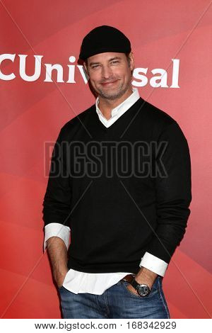 LOS ANGELES - JAN 17:  Josh Holloway at the NBC/Universal Cable TCA Winter 2017 at Langham Hotel on January 17, 2017 in Pasadena, CA