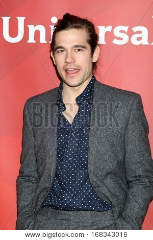 LOS ANGELES - JAN 17:  Jason Ralph at the NBC/Universal Cable TCA Winter 2017 at Langham Hotel on January 17, 2017 in Pasadena, CA
