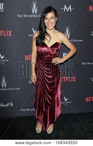 LOS ANGELES - JAN 8:  Ali Wong at the Weinstein And Netflix Golden Globes After Party at Beverly Hilton Hotel Adjacent on January 8, 2017 in Beverly Hills, CA