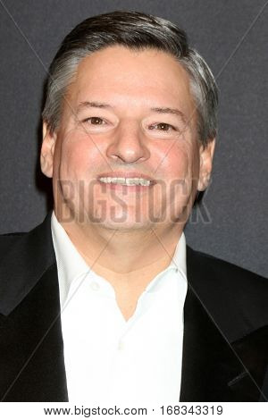 LOS ANGELES - JAN 8:  Ted Sarandos at the Weinstein And Netflix Golden Globes After Party at Beverly Hilton Hotel Adjacent on January 8, 2017 in Beverly Hills, CA
