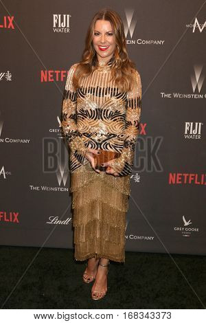 LOS ANGELES - JAN 8:  Juliet Angus at the Weinstein And Netflix Golden Globes After Party at Beverly Hilton Hotel Adjacent on January 8, 2017 in Beverly Hills, CA