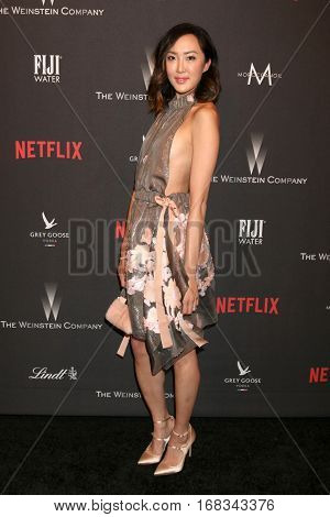 LOS ANGELES - JAN 8:  Chriselle Lim at the Weinstein And Netflix Golden Globes After Party at Beverly Hilton Hotel Adjacent on January 8, 2017 in Beverly Hills, CA