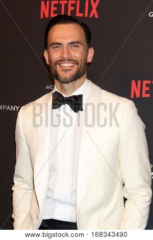 LOS ANGELES - JAN 8:  Cheyenne Jackson at the Weinstein And Netflix Golden Globes After Party at Beverly Hilton Hotel Adjacent on January 8, 2017 in Beverly Hills, CA
