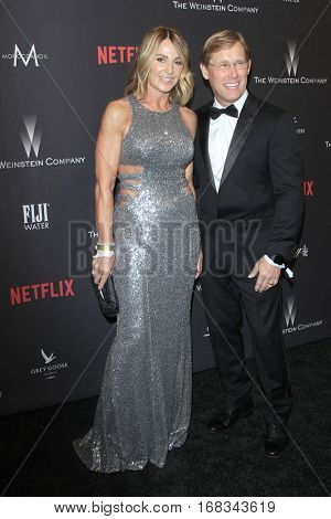 LOS ANGELES - JAN 8:  Nadia Comaneci, Bart Conner at the Weinstein And Netflix Golden Globes After Party at Beverly Hilton Hotel Adjacent on January 8, 2017 in Beverly Hills, CA