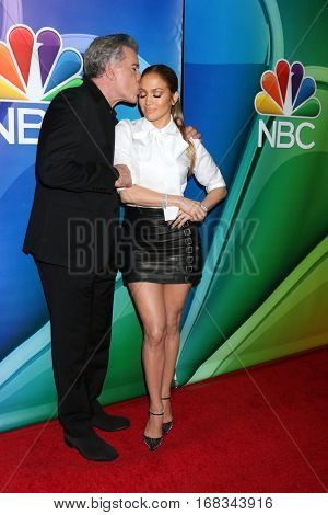 LOS ANGELES - JAN 18:  Ray Liotta, Jennifer Lopez at the NBC/Universal TCA Winter 2017 at Langham Hotel on January 18, 2017 in Pasadena, CA