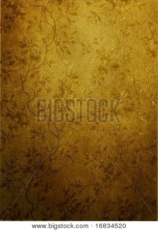 Vintage wallpaper cutre