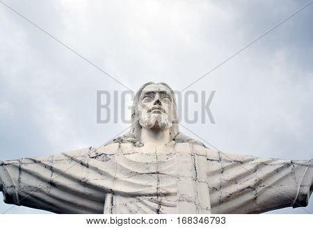 Christ The Redeemer Statue Of Jesus In Amparo