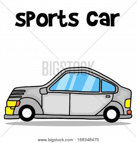 Collection stock of sports car vector art