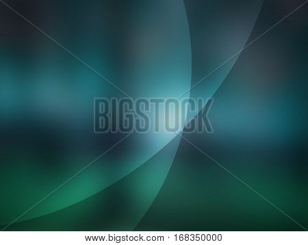 Abstract turqoise background with white energy lines