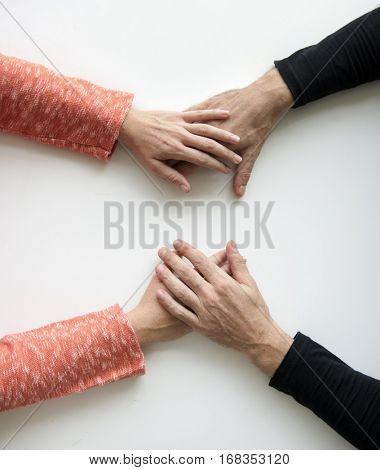 Hands Reassurance Comfort Gesture Support