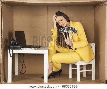 Broken Intern, Asks For Help, The Stress In The Office