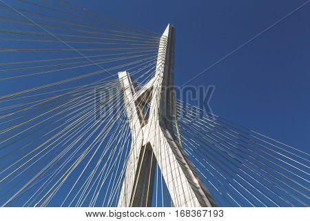 Sao Paulo bridge, Brazil