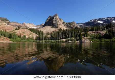 Sundial Peak And Lake Blanche